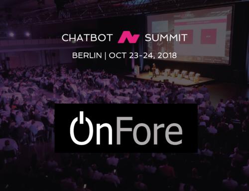 Treffen Sie unsere KI Experten @ Chatbot Summit 2018