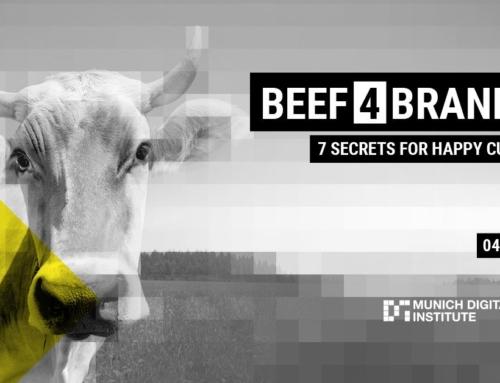 Vortrag zum Thema Chatbots auf der Beef4Brands
