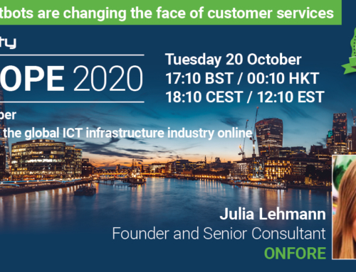 Fireside chat at Capacity Europe 2020